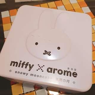 🚚 Miffy米飛兔白色大鐵盒