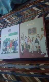 🚚 (WTS) (G)I-dle Unsealed albums