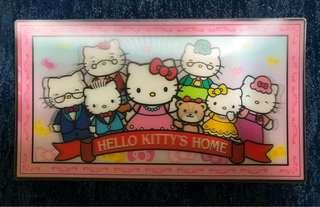 Hello Kitty 3D 全家福 Postcard
