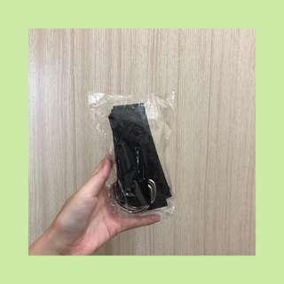 🚚 《全新》黑色編織皮帶
