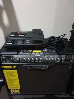 [Price Reduced] Line 6 Spider Jam Amplifier 75W with FBV Express MKII Footswitch