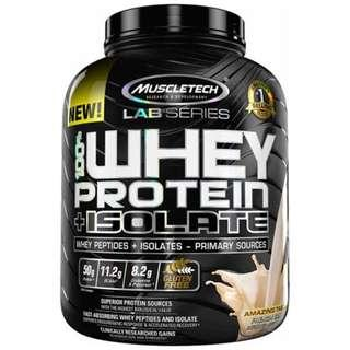 🚚 MUSCLETECH Whey Protein +Isolate 5 lbs