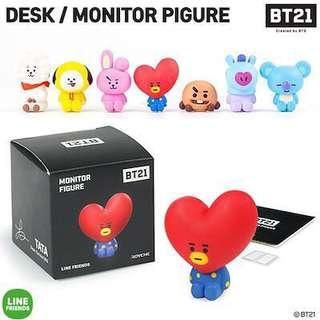 [FAST PO] BT21 Official Monitor Figures