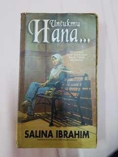 Untukmu Hana by Salina Ibrahim