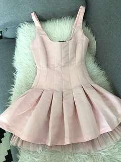 Cute pink cocktail dress