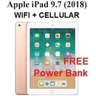 Apple iPad 9.7 Wifi/Cellular (6 Gen 2018)