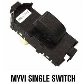 ORIGINAL - Power Window Single/Sub Switch Perodua Myvi/Myvi LB/Myvi Icon/Alza