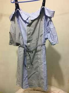 全新露肩恤衫 made in Korea