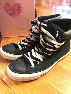 All Star Converse Black & White EUR Size 39.5