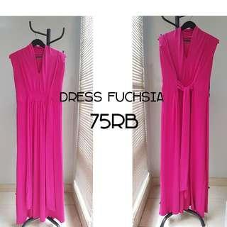 Dress fushcia