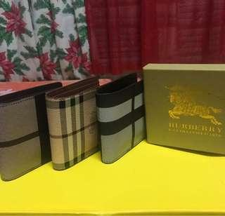 Burberry Mens Wallet with free shipping