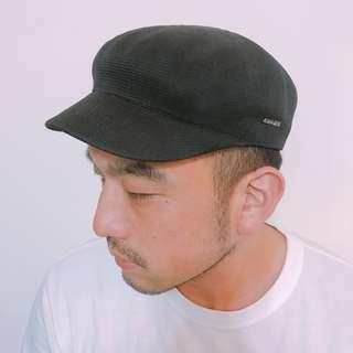 🚚 #半價良品市集 KANGOL🦘二手帽👉透氣立體版型黑色