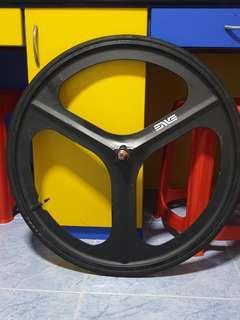 Navigate not enve, the enve is calvin sticker Trispoke tri spoke wheel *NOT OEM*