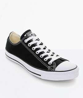Converse Black Shoes  - 36.5