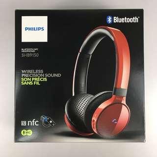 Philips SHB9150 Bluetooth NFC Headphones