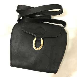 Authentic Christian Dior CrossBody Shoulder Bag Clutch Vintage Dior Not YSL Celine