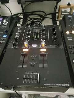Pioneer dj djm250mk2