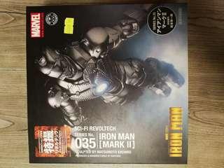 Revoltech 035 Iron Man mark II
