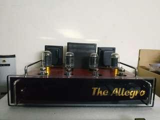 Allegro II The Allegro tube valve Power Amp