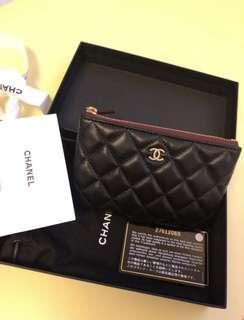 全新連盒 Chanel Coins Bag 散銀包 經典款