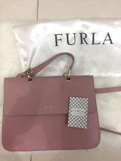 Furla crossbody bag pink