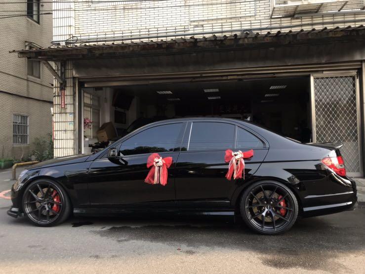 禮車出租 最低價 Benz W204 C class 賓士結婚禮車 大桃園區 新北市 台北市 新竹市