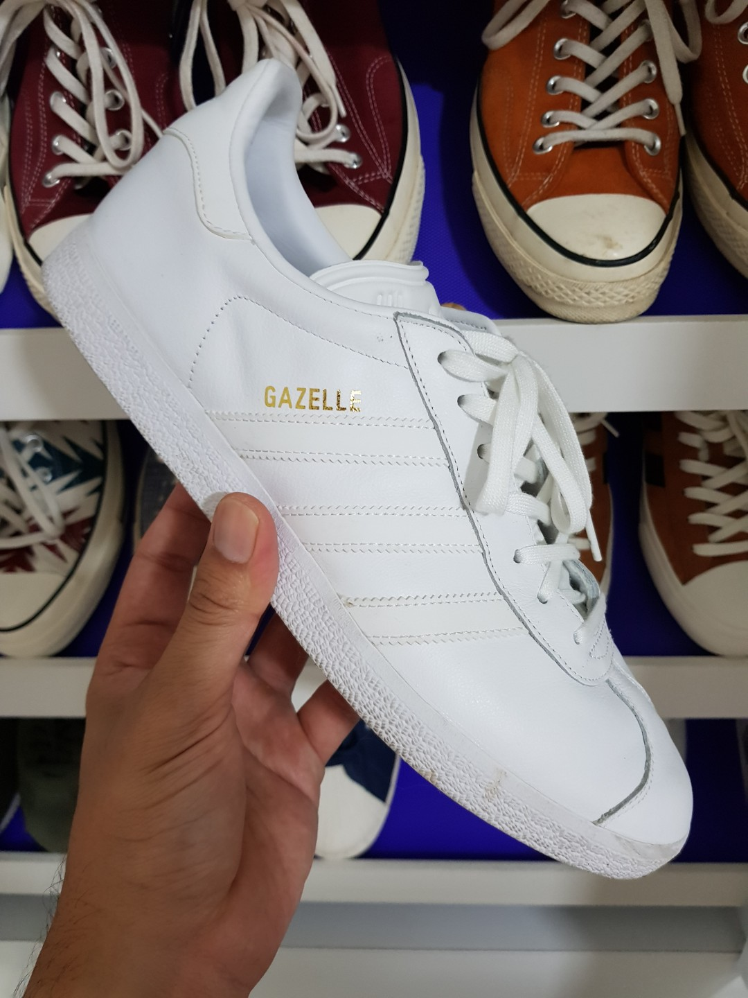 ADIDAS GAZELLE B41648 MEN/'S GENUINLY ORIGINAL OUTDOOR SHOES SNEAKERS