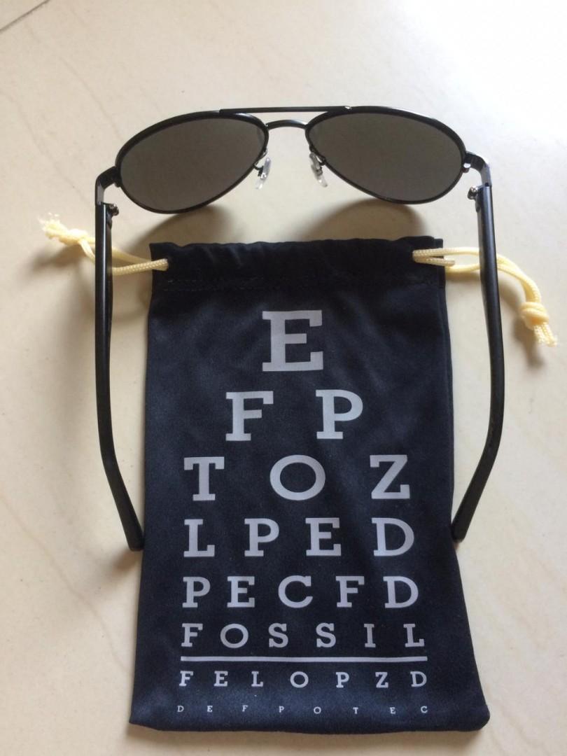 Aviator sunglasses fossil original 100% usa factory outlet ( kacamata hitam Fossil )