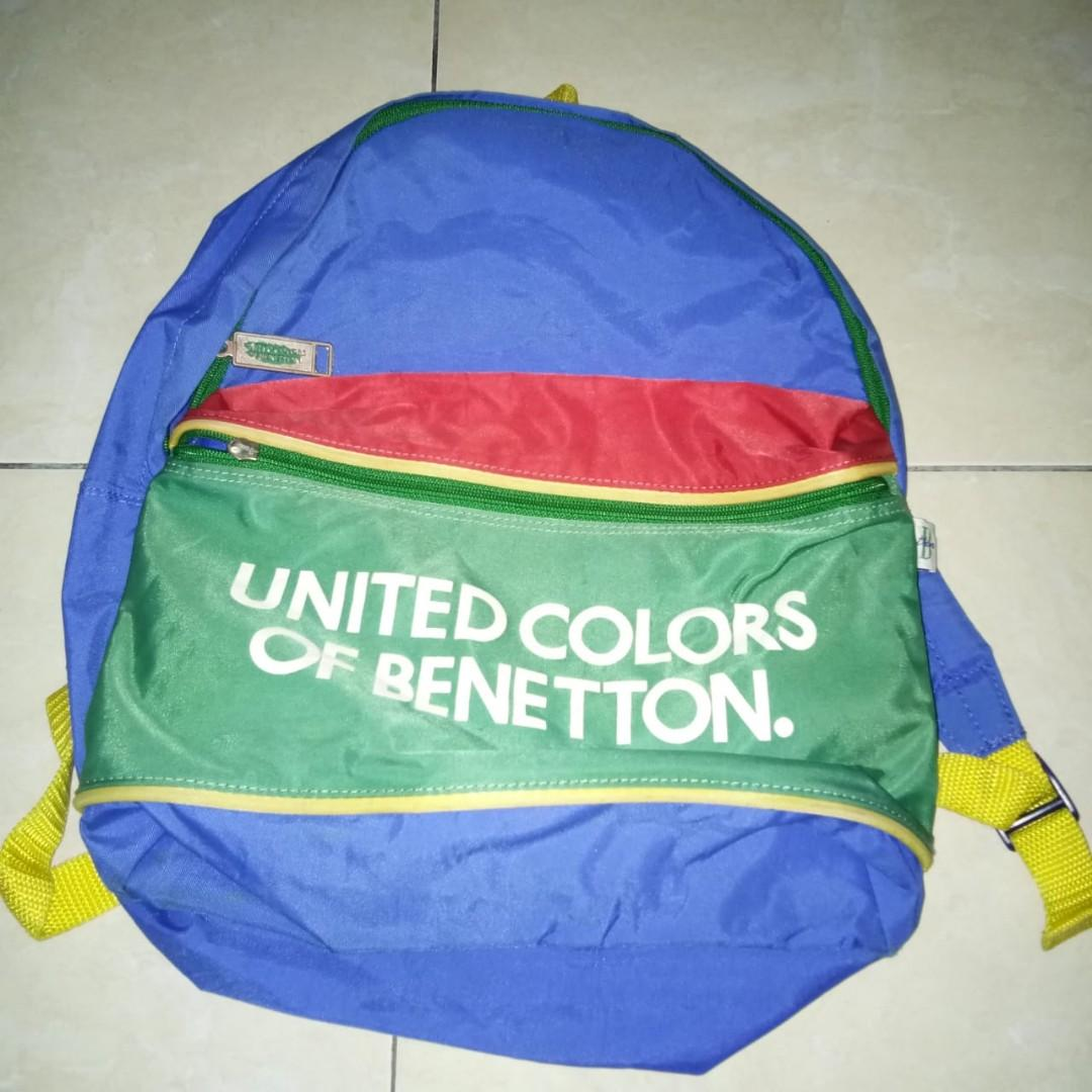 Backpack Vintage United Colors Of Benetton (UCB)