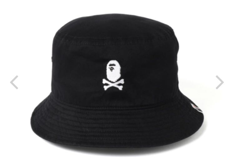 46f4823baa623 Bape ape crossbone bucket hat