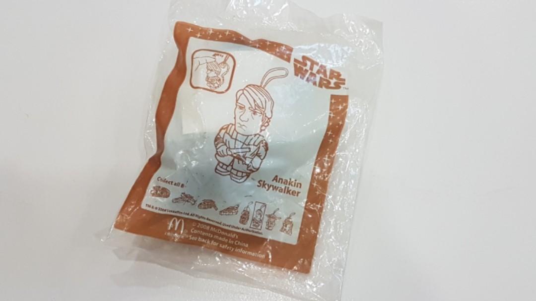 BNIB MacDonald's Happy Meal Toy Star Wars Luke Skywalker