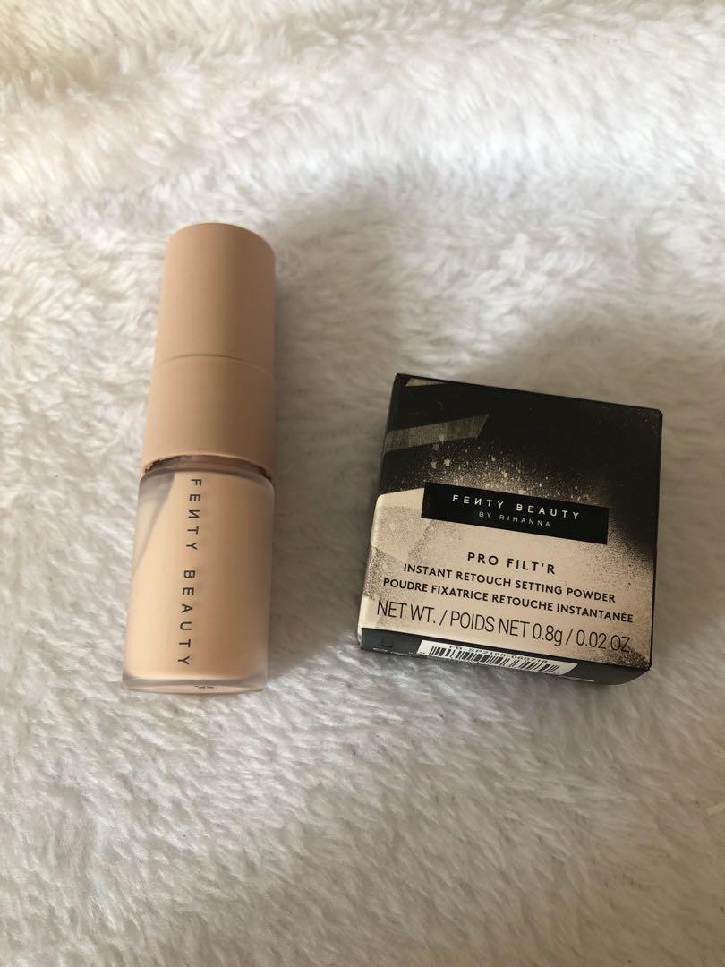 Brand New Fenty Beauty Deluxe Pro Filt'r Primer & Setting Powder