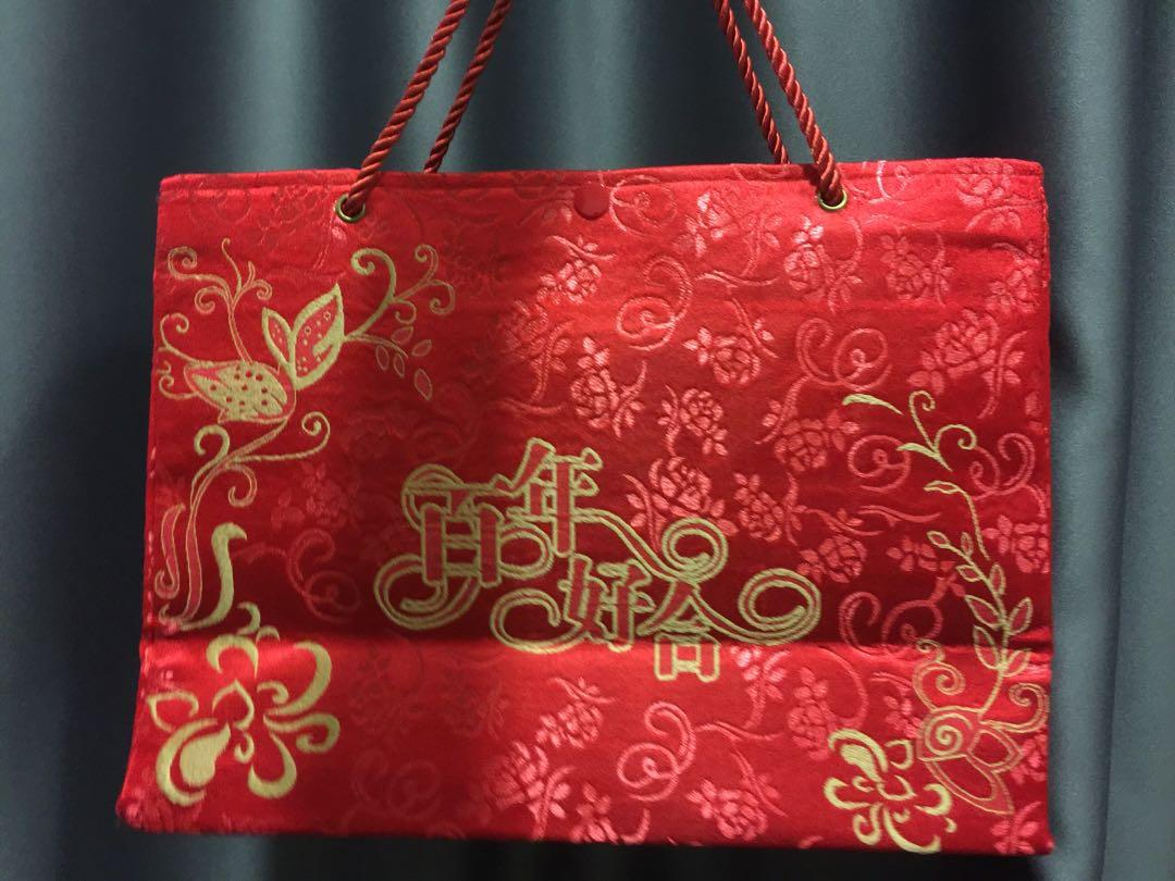 Chinese cloth bag for wedding