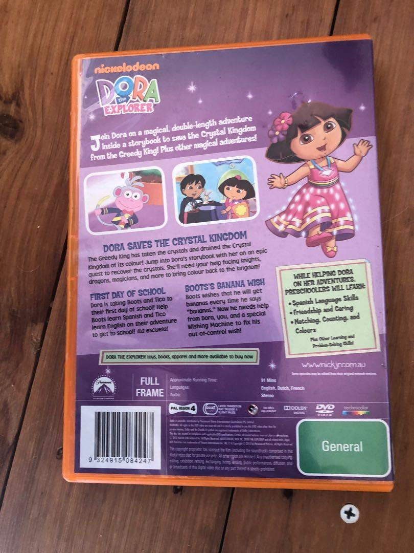 Dora the Explorer Toy Movie and reading book bundle