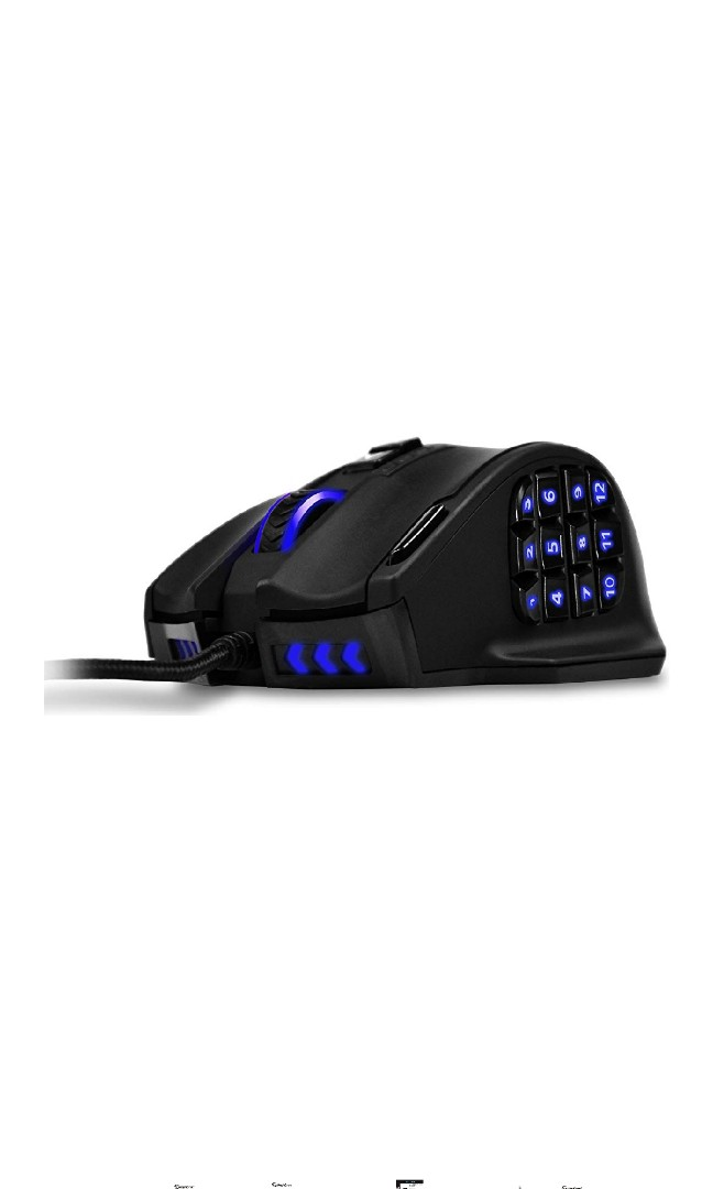 fc3ec248178 EG34.UtechSmart Venus Gaming Mouse RGB Wired, 16400 DPI High ...