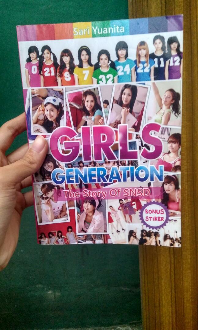 Girls Generation SNSD Buku Postcard Foto Photo Sticker Fan Book Buku KPop K Pop K Wave KWave Yoona Taeyeon Yuri Seohyun Heoyeon Sunny