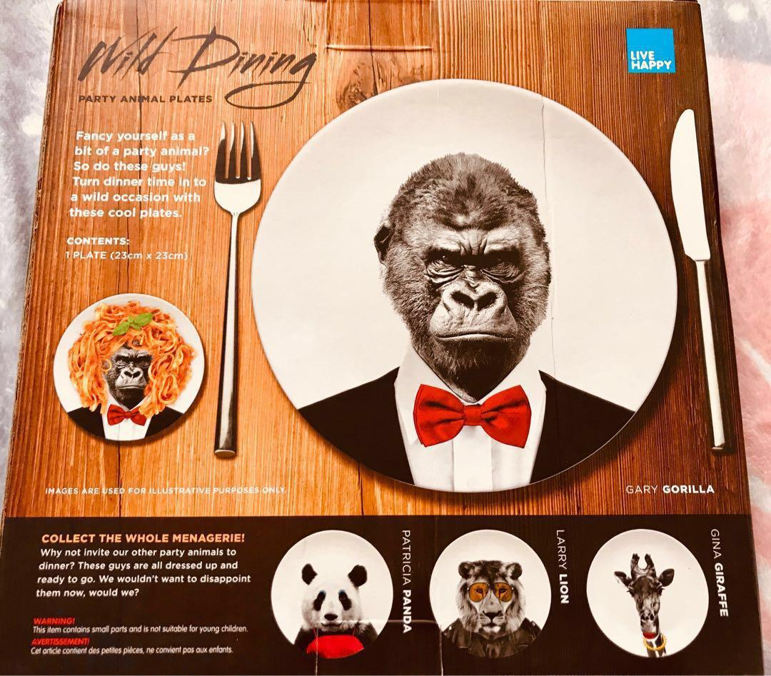 Gorilla on a Plate (No Really!)