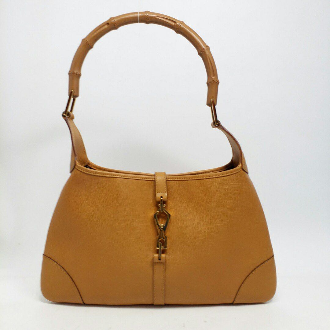 799f22ae GUCCI Jackie O Lobster Clasp Full Leather (Calf) Hobo Shoulder Bag ...