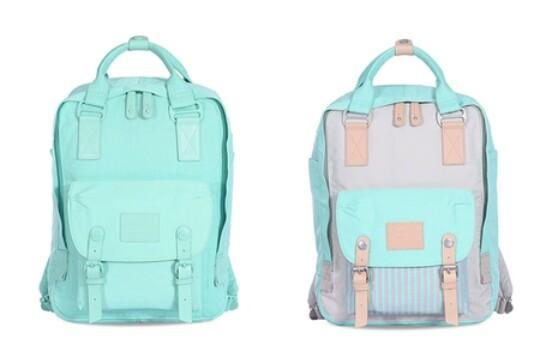 Hong Kong authentic Doughnut donut shoulder bag new Korean travel bag backpack male and female students bag