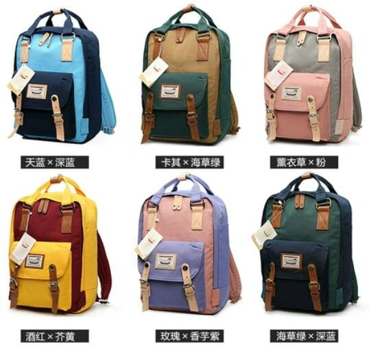 Hong Kong authentic Doughnut donut shoulder bag student bag travel bag backpack men and women school bag