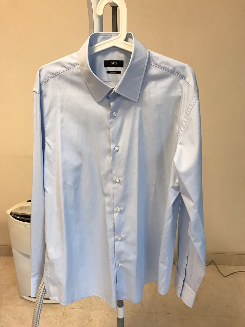 7eb6240bf Hugo Boss Men's Shirt, Luxury, Apparel, Men's on Carousell