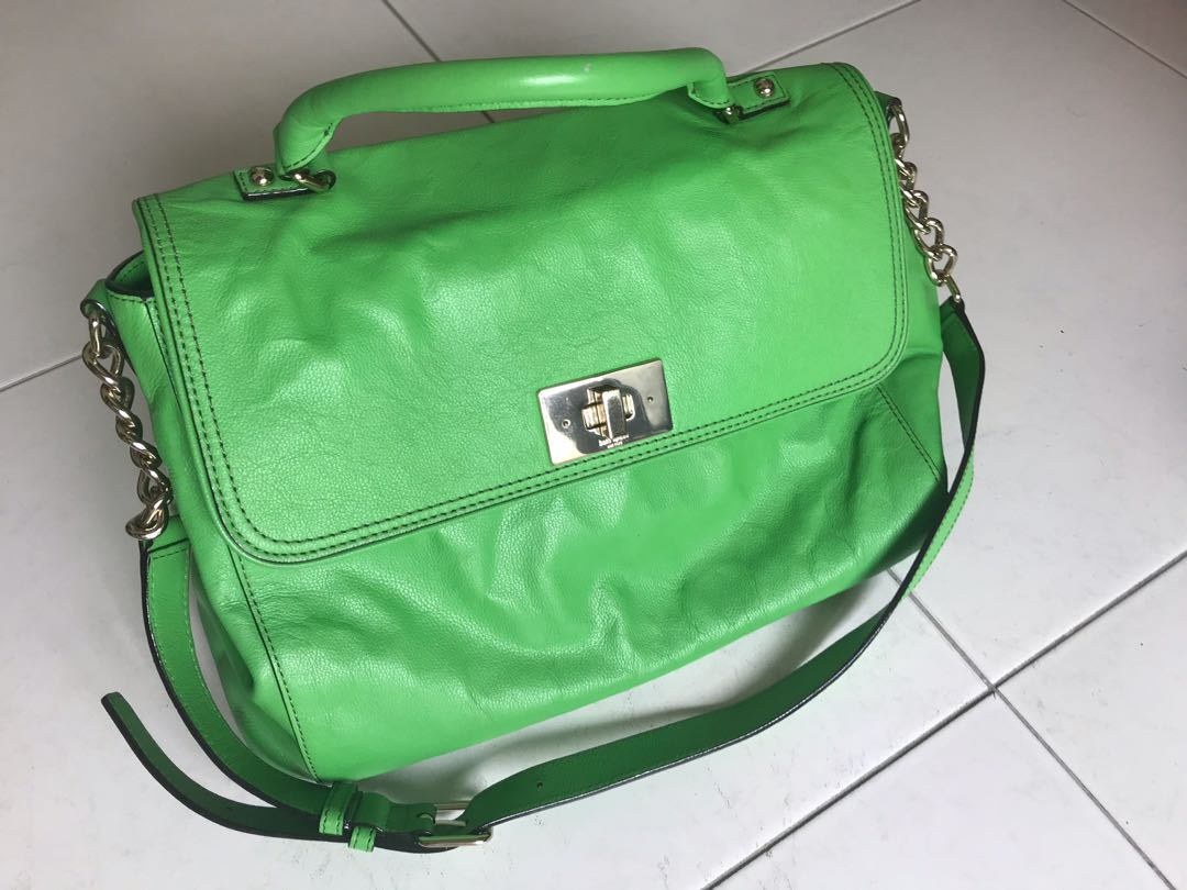 8ece47a9be18 IRVING PLACE LITTLE NADINE LEATHER SATCHEL