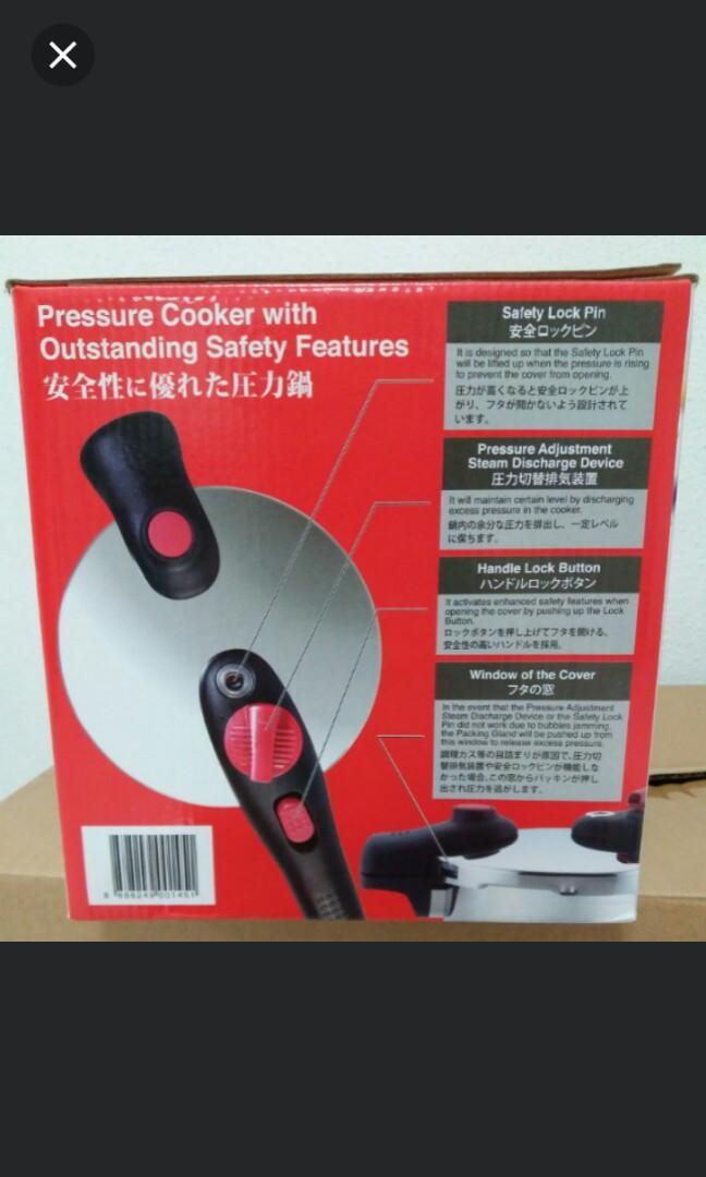 Japan pressure cooker