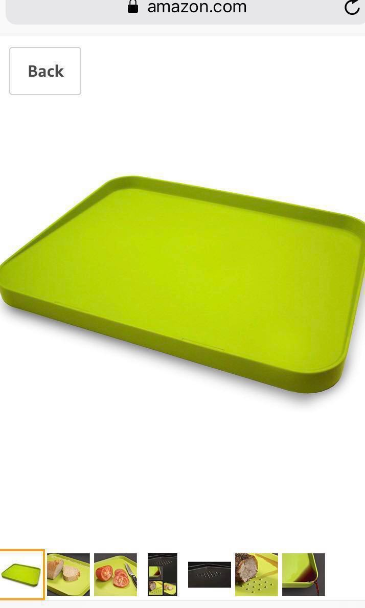 1f9550d173ca Joseph Joseph Cut&Carve Plus Carving/Chopping Board - Bright Green Colour,  Large Size, Home Appliances, Kitchenware on Carousell