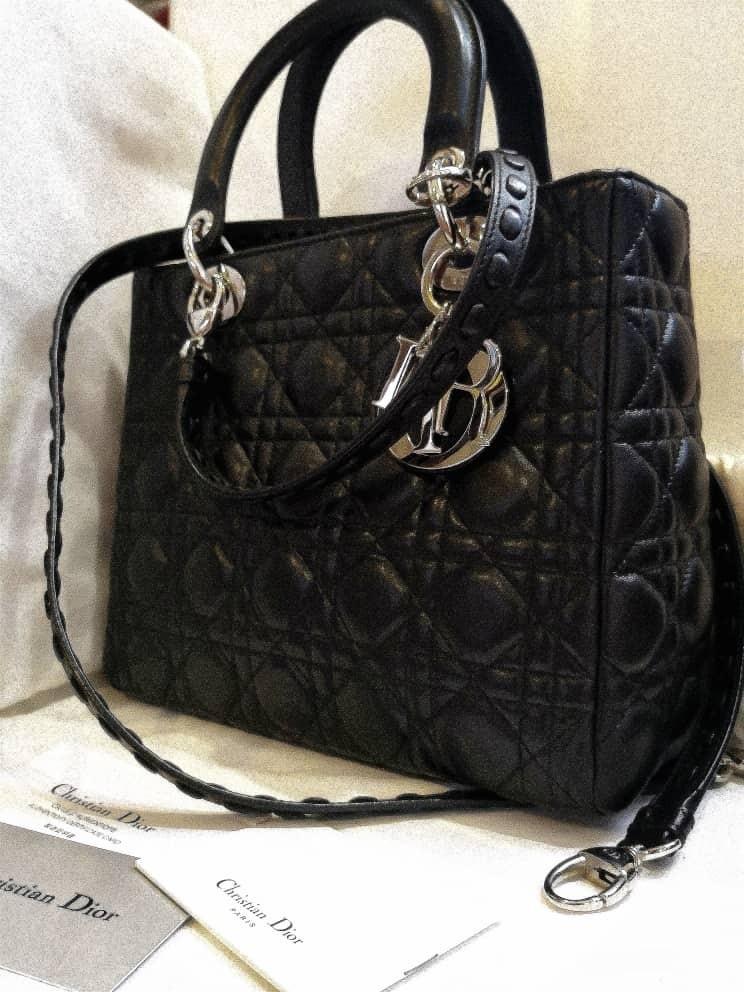227189a3dbb Lady Dior Bag, Luxury, Bags & Wallets, Handbags on Carousell