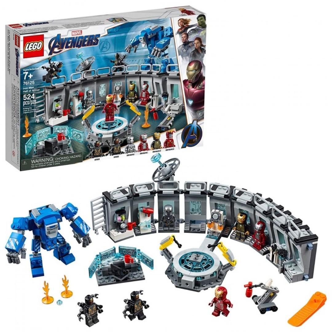 LEGO - 76125 復仇者聯盟4鋼鐵俠機甲陳列室