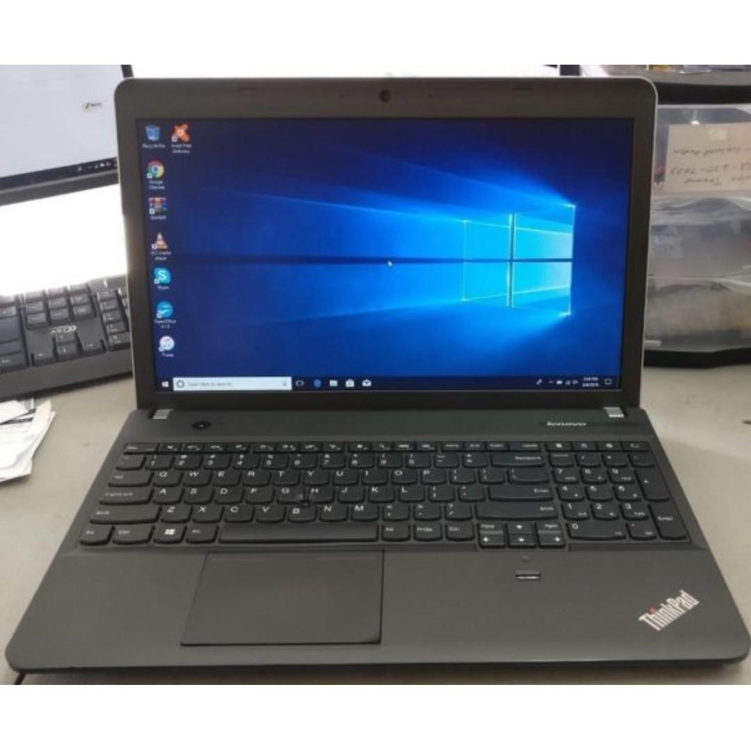 Lenovo E540 Notebook Laptop Intel® Core™ i5-4210M CPU 2 60GHz 4GB 500GB  W8 1 Pro