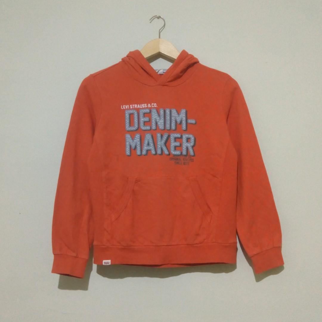 LEVI'S Hoodie Denim Maker Original
