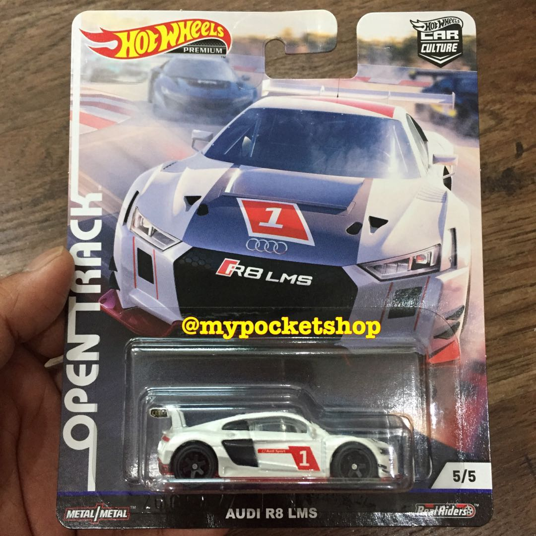 Limited Pcs Hot Wheels Audi R8 Lms Open Track Toys Games Others On Carousell