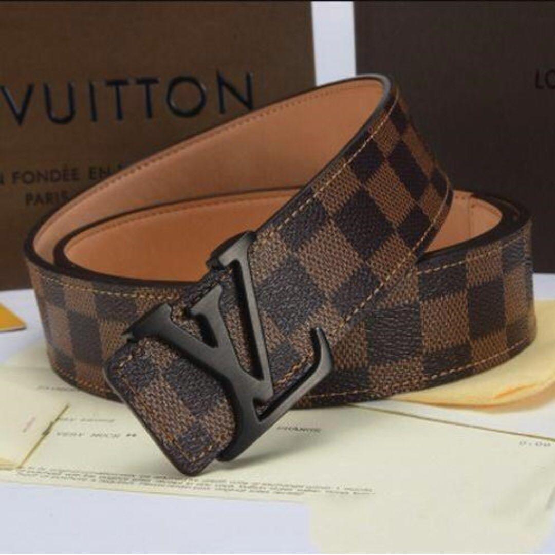 LOUIS VUITTON Man Leather Belt